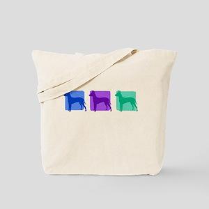 Color Row Xoloitzcuintli Tote Bag