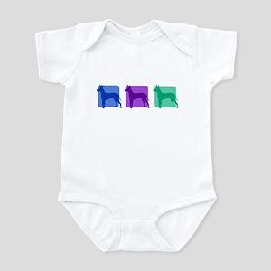 Color Row Xoloitzcuintli Infant Bodysuit
