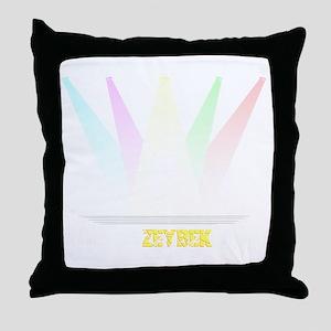 Zeybek t-shirt Throw Pillow