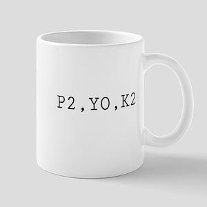 P2,YO,K2 (Knitting) Mug