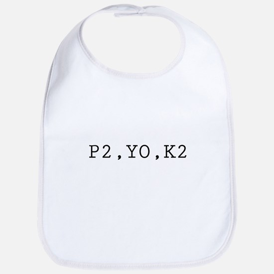 P2,YO,K2 (Knitting) Bib