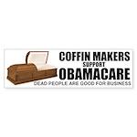 NOBamaCare - Anti Obama Healt Sticker (Bumper 10 p