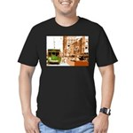 New Orleans Streetcar Named D Men's Fitted T-Shirt