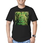 Get ECO Green Men's Fitted T-Shirt (dark)