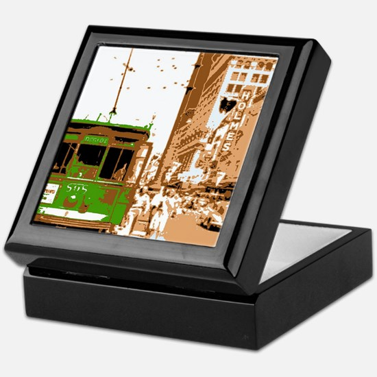 New Orleans Streetcar Named D Keepsake Box