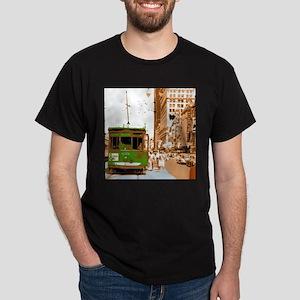 New Orleans Streetcar Named D Dark T-Shirt