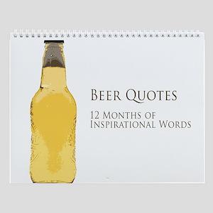 Beer is Proof Wall Calendar