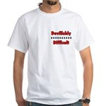 White T-Shirt - devilish + creed