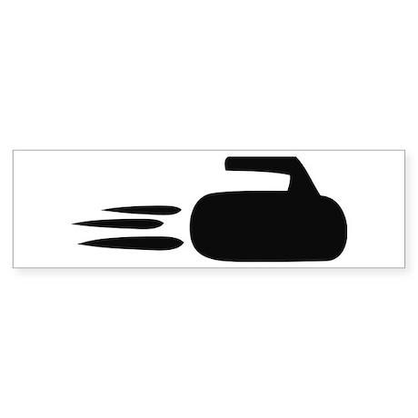 curling icon Bumper Sticker
