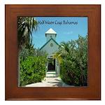 Half Moon Cay Framed Tile
