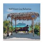 Half Moon Cay Tile Coaster