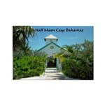 Half Moon Cay Rectangle Magnet (100 pack)