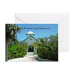 Half Moon Cay Greeting Card