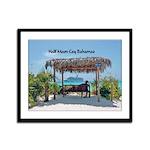 Half Moon Cay Framed Panel Print
