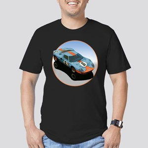 The Avenue Art Men's Fitted T-Shirt (dark)