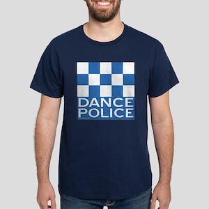 Dance Police Blue Dark T-Shirt