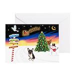 XmasSigns/Corgi Pup (Z) Greeting Card