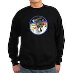 XmasSigns/Corgi Pup (Z) Sweatshirt (dark)