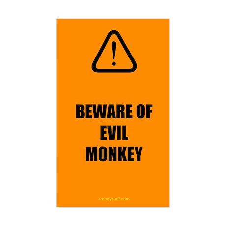 Evil Monkey Sticker