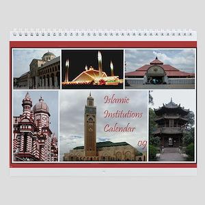 Islamic Institutions Wall Calendar
