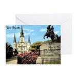 Vintage Jackson Square Christmas Card (6)