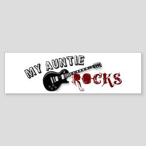 My Auntie Rocks Bumper Sticker
