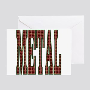 Chinese Metal Store Greeting Card