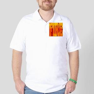 Chinese Fire Golf Shirt