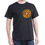 Excellent Quality Black T-Shirt (maltese Cross)