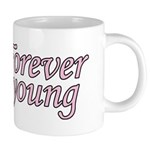 Forever Young 20 oz Ceramic Mega Mug