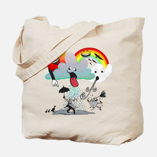 Very Bad Weather! Tote Bag