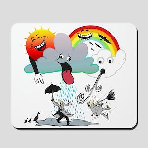Very Bad Weather! Mousepad
