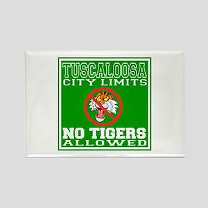 Tuscaloosa City Limits Rectangle Magnet