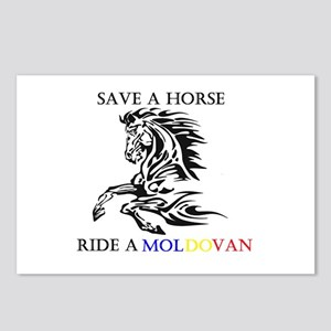 Save a horse Ride a Moldovan Postcards (Package of