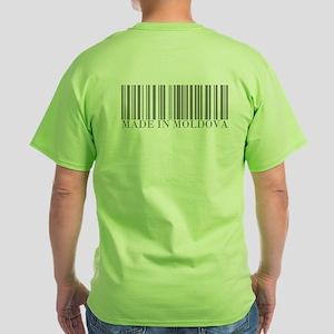 Made in Moldova Green T-Shirt
