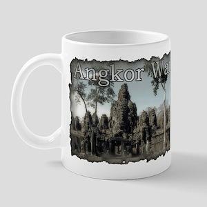 Vintage Angkor Wat Mug