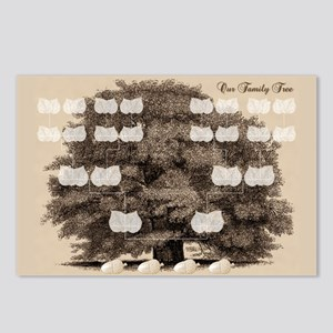 Family Tree 4 Acorns Postcards (Package of 8)