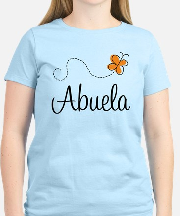 Abuela Butterfly Women's Light T-Shirt