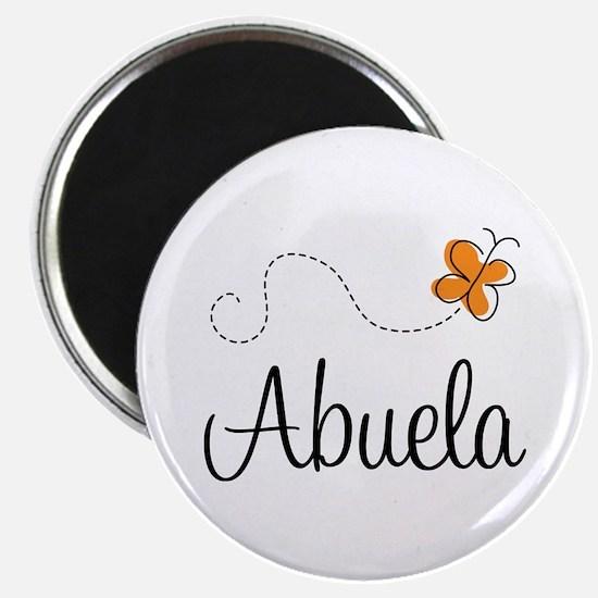 Abuela Butterfly Magnet