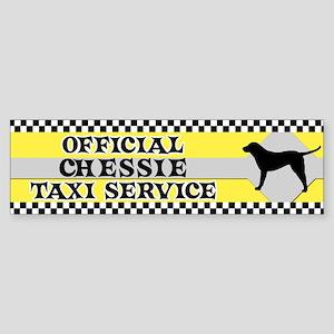 Official Chessie Taxi Bumper Sticker