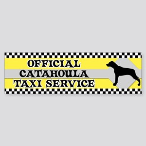 Official Catahoula Taxi Bumper Sticker