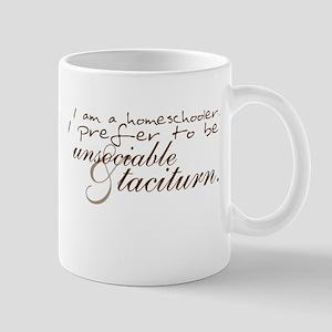 Unsocialable Homeschooler Mug