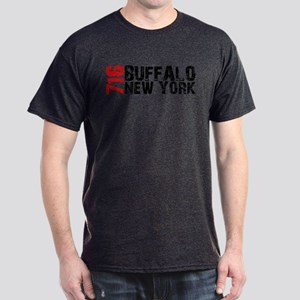 716 Buffalo New York Dark T-Shirt