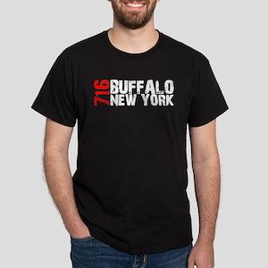 716 Buffalo New York Dark T-Shirt