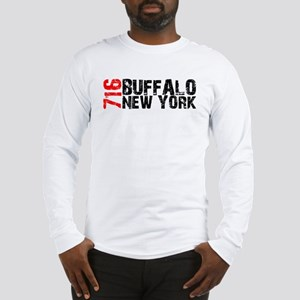 716 Buffalo New York Long Sleeve T-Shirt
