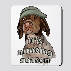 german shorthaired hunting se Mousepad