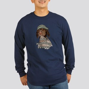 german shorthaired hunting se Long Sleeve Dark T-S