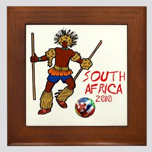 South Africa 2010 Framed Tile