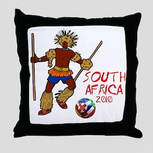 South Africa 2010 Throw Pillow