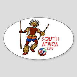 South Africa 2010 Oval Sticker